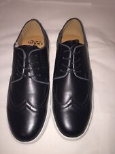NIB Adolfo Men's shoes S/wing-1 -Black- Size 9.5 dress party wedding