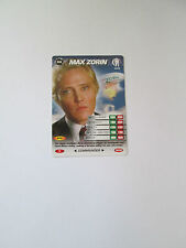 James Bond 007 Spy Common card 030 Max Zorin (Test series)