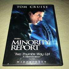 Minority Report Dvd 2-Disc Set Widescreen Tom Cruise Sci Fi Movie Spielberg