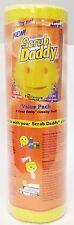 "Scrub Daddy, Inc. SD8RMC Scratch-free Scrubbing Sponge, 4 1/8"" Diameter, Yellow,"