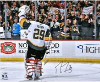 Marc-Andre Fleury Golden Knights Signed 16x20 Pittsburgh Salute Photo - Fanatics