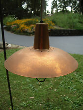 Light Chandelier Mid Century Fiberglass Diffuser Brass Wall Mount Adjustable