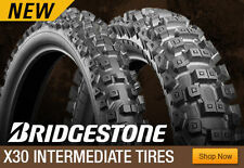 "Bridgestone X30 90x100-21"" MX Motorbike Intermediate Front Tyre Tire 21 Enduro"