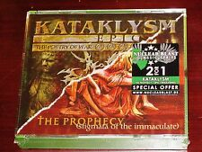 Kataklysm: The Prophecy + Epic The Poetry Of War 2 CD Box Set 2016 NB 3745-2 NEW
