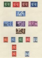 MOROCCO AGENCIES/TANGIER: George VI - Ex-Old Time Collection - 3 Pages (32595)