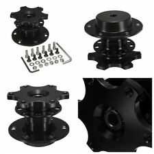 Universal Steering Wheel Quick Release Hub Adapter Removable Snap Off Boss Kit