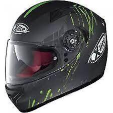 Caschi Moto verde per la guida di veicoli taglia XL