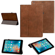 Luxury Cubierta para Apple iPad Air 1 Funda Protectora De Cuero La Tableta braun