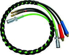 15 ft. 3-in-1 ABS Electrical & Air Hose Assemblies, BLACK Hoses
