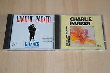 lot 2 albums CD CHARLIE PARKER : Gitanes / Bird - Jazz
