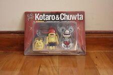 Medicom Toy Kubrick Kotaro & Chuwta Ron English kaws medicom