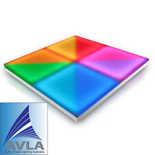 *NEW* Omega LED DANCE FLOOR Brightest Auto or DMX Control Dancefloor 1x1m Panel