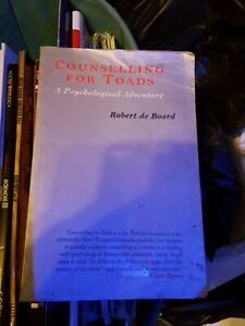 Counselling for Toads: A Psychological Adventure - Paperback NEW Board, Robert D