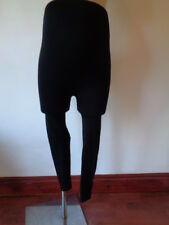 NEW LOOK MATERNITY THICK BLACK FOOTLESS OVER BUMP TIGHTS SIZE S 8-10