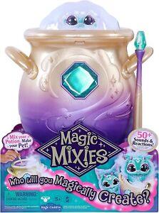 Magic Mixies Magical Misting Cauldron with 20cm Blue Plush - IN STOCK
