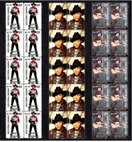 GARTH BROOKS COUNTRY MUSIC SET OF 3 MINT VIGNETTE STAMP STRIPS 2