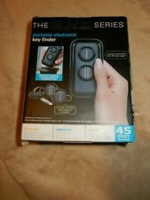 New Wireless Portable Electronic Key Finder Black Series 2 Fobs 45ft Range