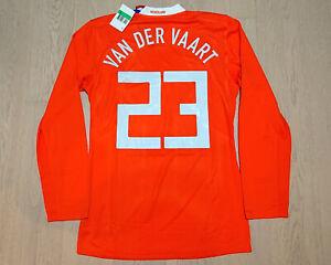 Netherlands Euro 08 Home shirt L/S Player issue Rafael van der Vaart #23 size XL
