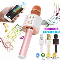 Wireless Bluetooth Microphone Karaoke KTV Party Home Handheld Mic Speaker Player