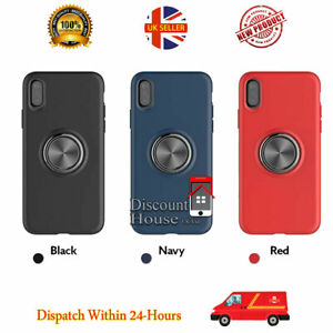 Metal Magnetic Soft Rubber Ring Case Cover For Huawei P30 P30 Pro P20 P20 LITE