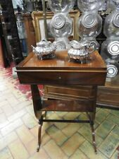 Wonderful Antique Small Table Charles x Walnut Period First half' Ottocento