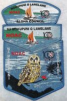 NA MOKUPUNI O LAWELAWE 567 ALOHA 2015 NOAC OA 100TH  3-PATCH CSP FLAP DELEGATE