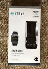 NEW  Fitbit Ionic Sport Accessory Band, Black - Small