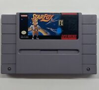 Star Fox Super FX (Super Nintendo, 1993) SNES Authentic!! FAST SHIP!!