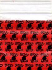 "Ziplock Baggies 2020 Apple 100 Mini ZIP LOCK Bags PRINTED 2"" X 2"" (STAY HIGH)"