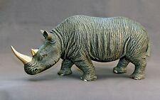 Incredibly Detailed Rhinoceros Bronze / White Rhino Art