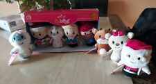 Hallmark Itty Bitty Bittys Rudolph the Red-Nosed Reindeer Complete 8pc Set
