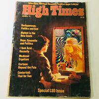 VTG High Times Magazine January 1977 - Michael Kennedy, Radical Dope Lawyer