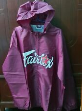 JACKET FAIRTEX NYLON WINDBREAKER SPORTWEAR JOGGING FITNESS XXL 2XL PURPLE VIOLET