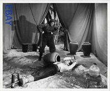 Turhan Bey bound to stakes VINTAGE Photo Cesar Romero Prisoners of the Casbah