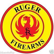 RUGER HELMET STICKER HARD HAT STICKER TOOL BOX STICKER