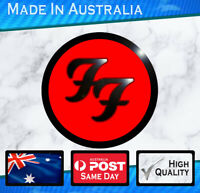 Foo Fighters Band Sticker NEW style 100mm wide.