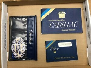 1965 Cadillac Used Owners manual set