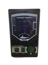 VTG TOMY Torpedo Terror Pocket Arcade 1982 Wind-Up Toy Works Great