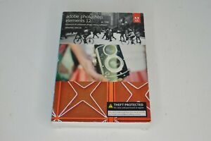 New Adobe Photoshop Elements 12 PC and Mac Photo Editing Software Brand New