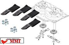 4x Messer Messerklinge Stiga Park Villa Ready 85 95 105Combi 1134-9119-01 6238-0