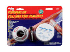 Alpha Fry Silver Bearing Plumbers Kit 6 oz. Flo-Temp Solid Wire, Silver Bearing