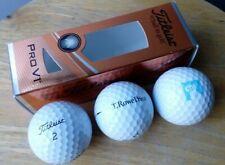 Banking/Finance (T.Rowe Price) : Titleist golf balls - 3 pieces