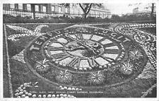 uk4390 floral clock princes street edinburgh scotland uk
