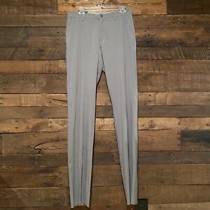 Adidas Ultimate 365 Golf Regular Fit Unhemmed  Grey Pants Mens Size 32 NWT
