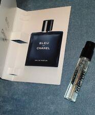 Bleu De CHANEL Blue Eau de Parfum EDP Pour Homme Mens Spray Sample 0.06 oz 2 ml