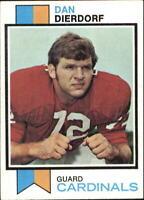1973 Topps Football Card #322 Dan Dierdorf RC - NM
