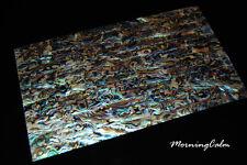 Blue Paua Veneer Sheet (MOP Shell Overlay Nacre Inlay Abalone Mother of Pearl)