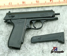 DIY 1:6 4D PPK Pistol Model Gun Weapon Toys Accessories F 12'' Action Figure
