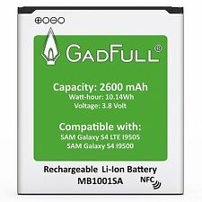 GadFull 2600 mAh Replacement Battery for Samsung Galaxy S4 i9500 / LTE i9505
