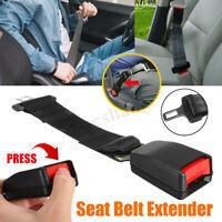 "14"" 36cm Universal Car Safety Seat Belt Seatbelt Extension Extender 7/8"""